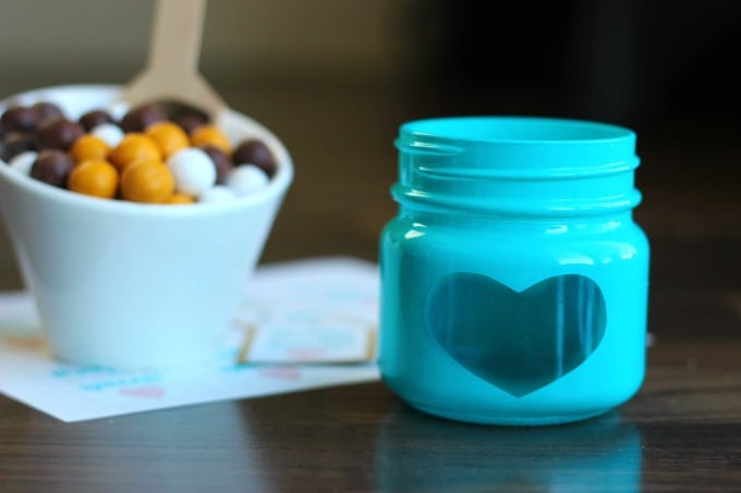 quick and easy candy jar tutorial