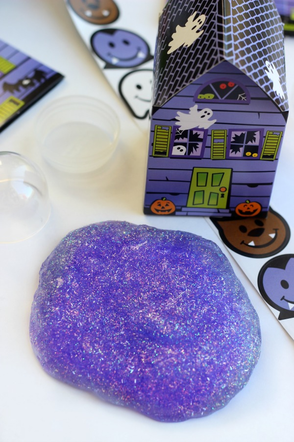 Halloween Glitter Slime