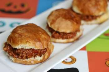 Pretzel Bun Sloppy Joes