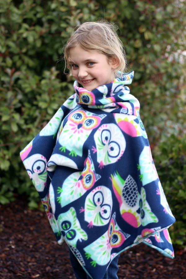2 Yards Of Fleece And 30 Minutes Time Is All You Need To Make This