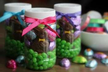 Easter Mason Jar Gift Idea