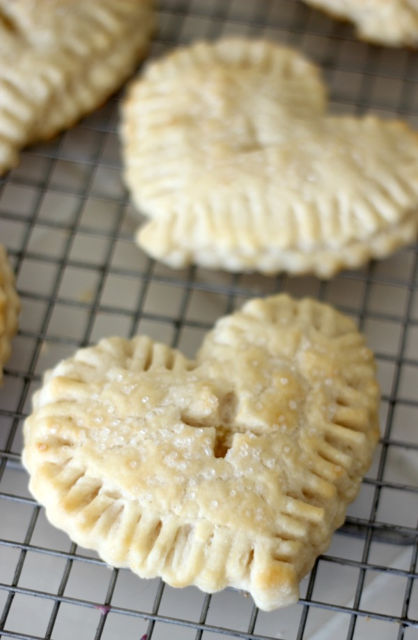 finished lemon curd hand pies