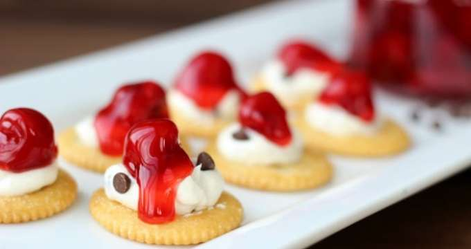 Four Sweet & Savory Appetizer Recipes with RITZ Crackers