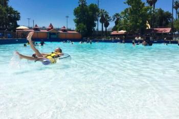 Summer Fun in Sacramento! Raging Waters Water Park