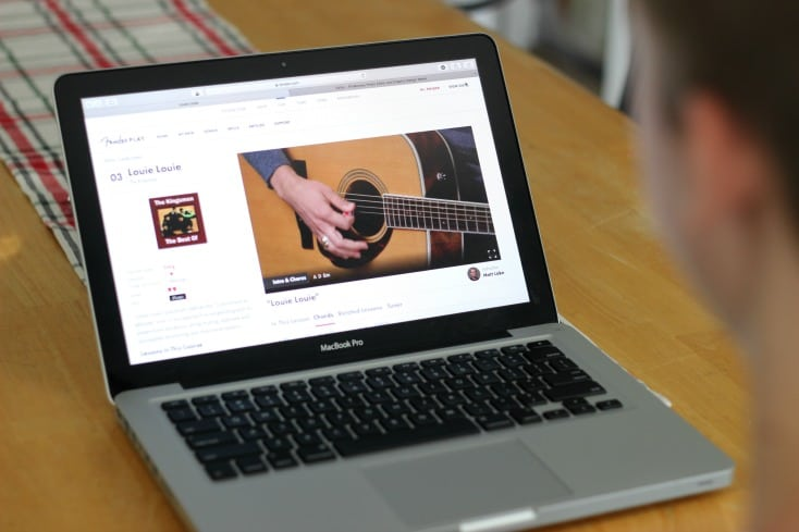 Give the gift of music this holiday season with online guitar lessons from Fender Play! Learn at your own pace with professional instructors, fun to learn songs, and easy to follow online videos! Geared towards both acoustic and electric guitar.