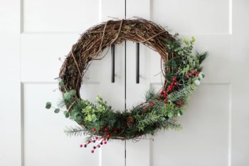 Winter Berry Wreath Tutorial