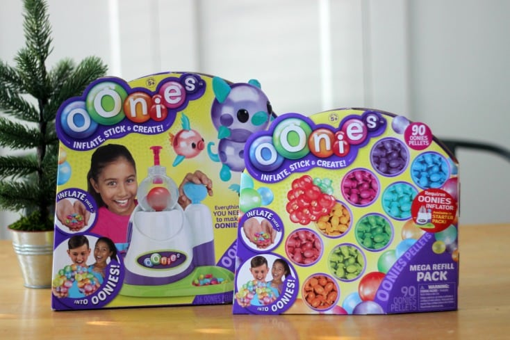 Looking for a creative gift idea for kids? Look no further. These sticky little balloons (Oonies) are fun to play with and are totally unique!