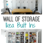 Ikea Built Ins For Storage Create A Wall Of Built Ins To