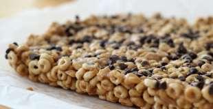 Peanut Butter & Honey Cheerio Bars