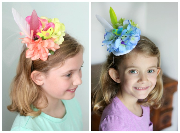 5d3cfe45 Make your own tea party hat to wear while sipping tea or pink lemonade with  your
