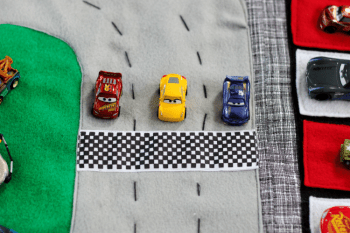 Double Sided Race Track Play Mat