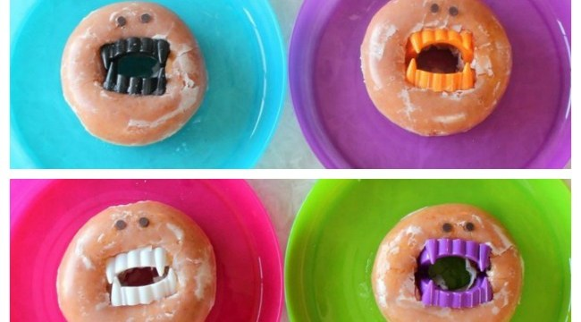 Vampire Donuts Are Fun for Class Parties!