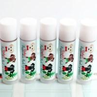 Homemade Lip Balm: Peppermint Bark Scented!