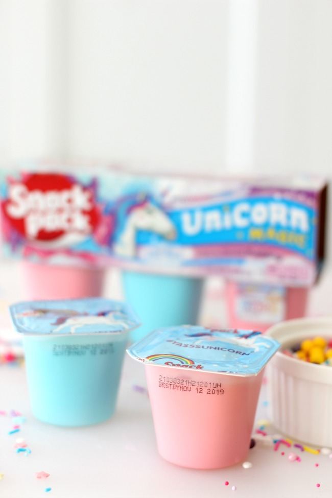These unicorn pudding cups are as pretty as they are sweet. Such a fun activity for kids to make at birthday parties and get-togethers with friends!