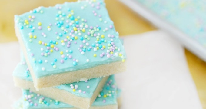 Easter Sugar Cookie Bars Recipe: Perfect for Easter Brunch