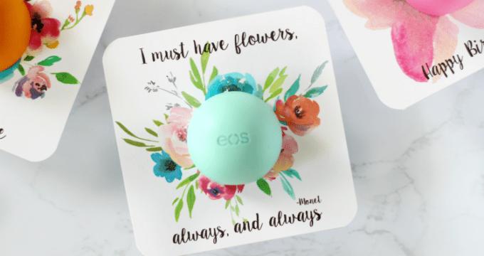 Watercolor EOS Floral Printables