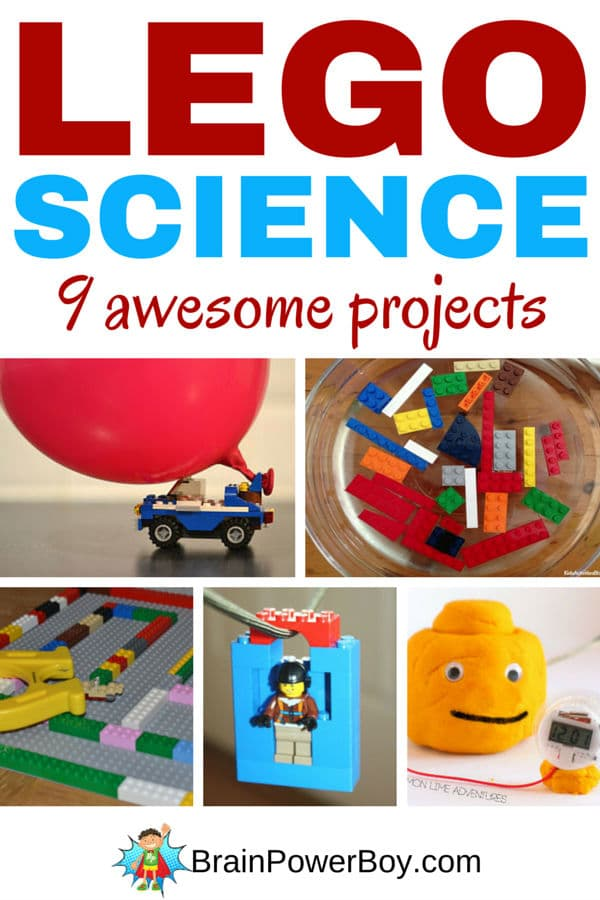 LEGO-Learning-Science-projects