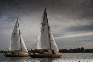 Folkeboote für Flotillen und Skippertrainings