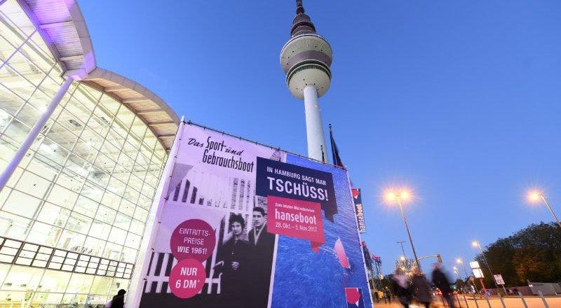 Die Hanseboot 2017, vorerst zum letzten Mal © 2017 Hamburg Messe und Congress GmbH