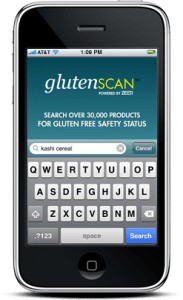 visit the glutenScan™ iPhone app website