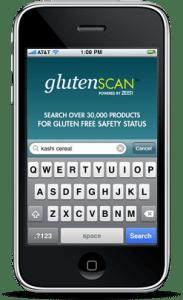 visit the glutenScan™ iPhone app website