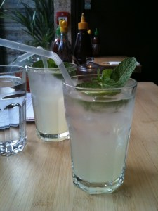 Homemade lemonade vodka - Pho Soho