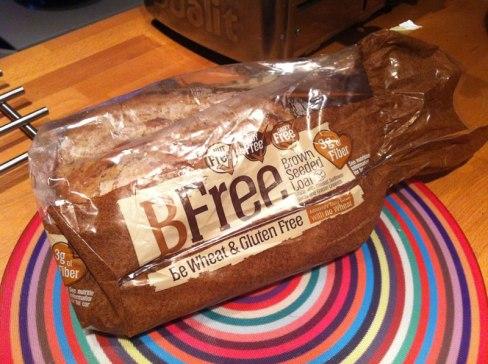 photo of BFree's gluten free bread