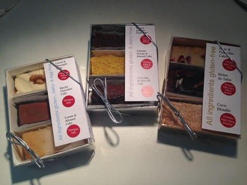 photo of Marnie's gluten free cakes