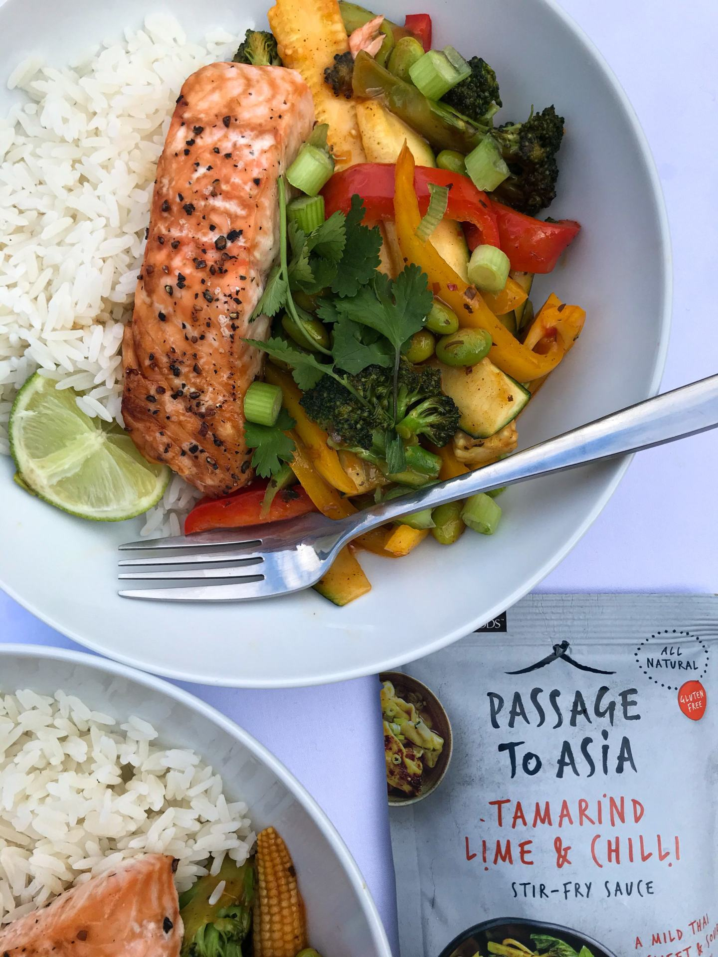 Salmon And Vegetable Stir Fry Ad Gluten Dairy Free
