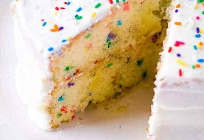 The Best Gluten Free Funfetti Cake Recipe Gluten Free Baking