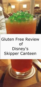 Gluten Free Review of Disneys Skipper Canteen