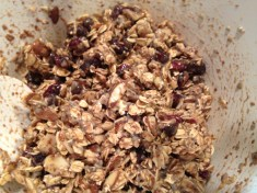 Granola bar mix