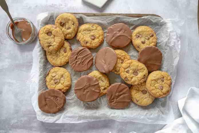 Gluten Free Choc Chip Dipped Cookies Recipe Dairy Free Option