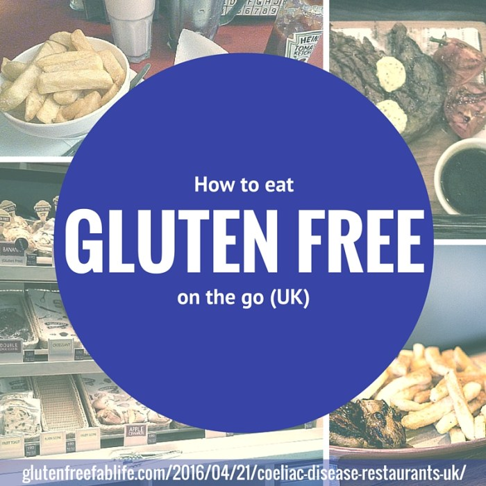 Don't worry about where you can find your next safe meal in the UK, even if you have coeliac disease. My guide to gluten free restaurants can help!