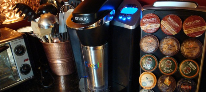 More gluten free coffee K-cups