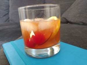 I spent an afternoon developing a hangover-preventing Magic Bullet cocktail: the Bullet Old Fashioned. I drank three and woke up good as new. Check out my recipe!