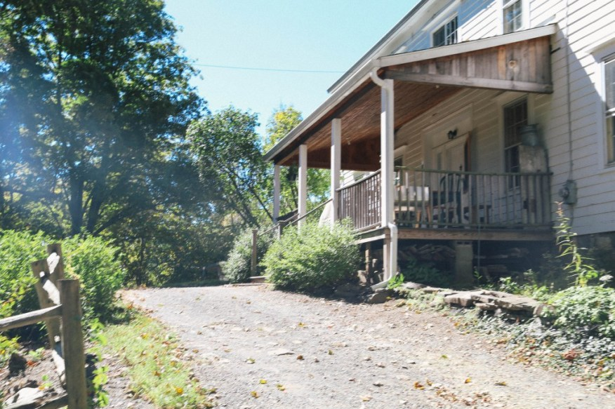 Hudson- front porch