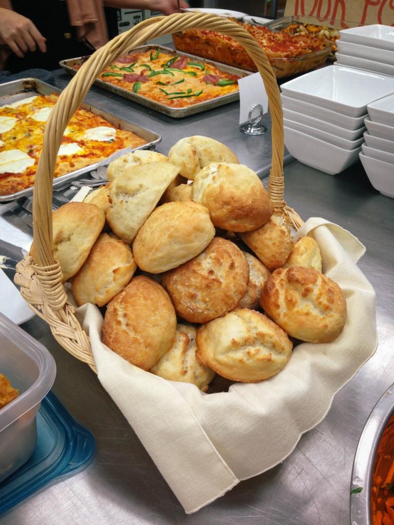 Boston- rolls at the bakery