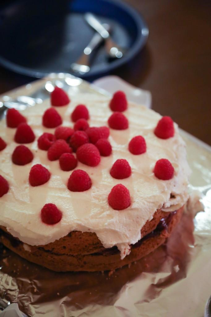 Providence- lemon rasberry cake