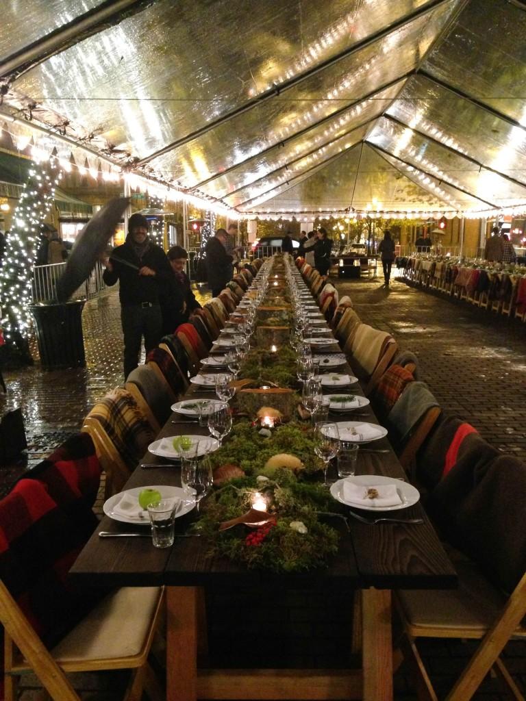Redzepi- the dinner table