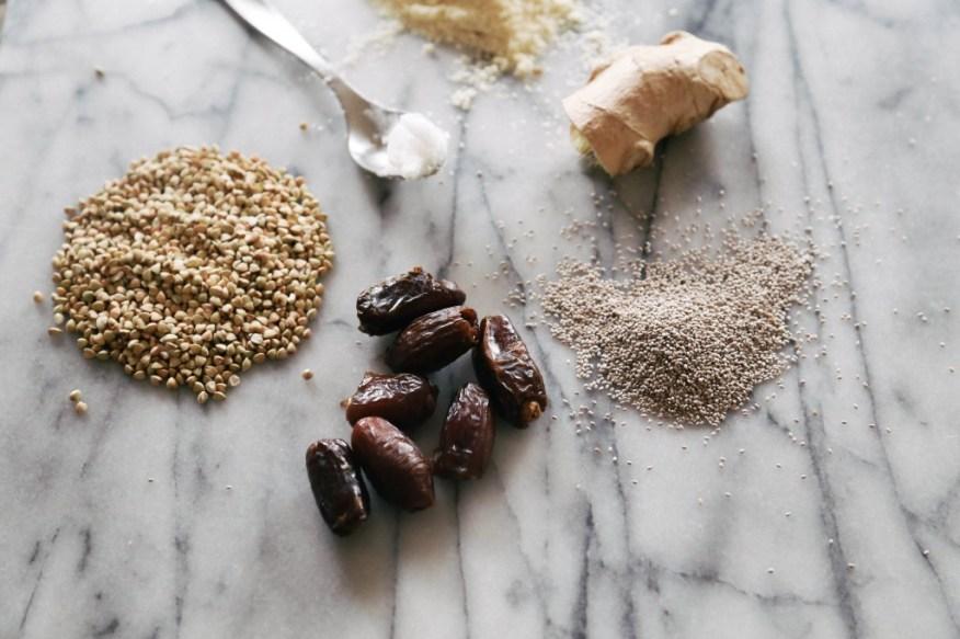 buckwheat cookies ingredients