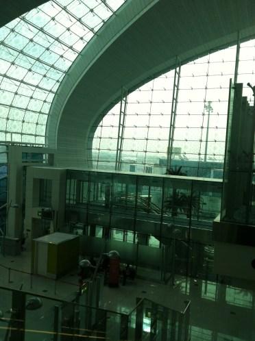 Dubai Airport, proof I was in the United Arab Emirates