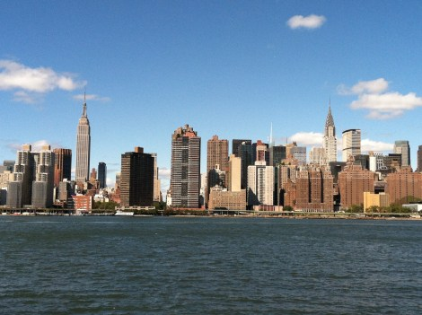 My beloved New York City from Long Island City, NY