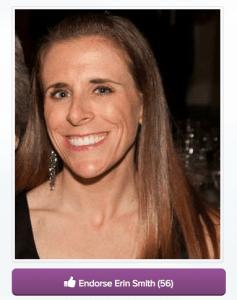 Erin Smith WEGO Health Nominee