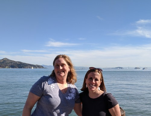 Kristen and I in Sausalito