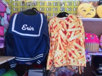 Any store that sells a jacket with my name on it right next to a french fry sweatshirt is the store for me!