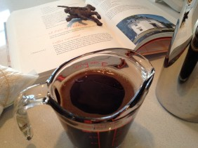 Cooling the coffee