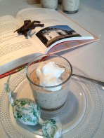 The first serving (cookbook behind!)