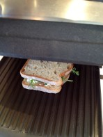 Gus could eat 2-3 of these little sandwiches....