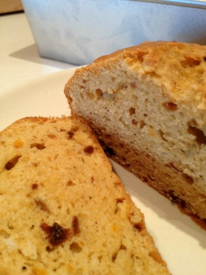 Beautiful and delicious fresh Butternut Apricot Bread!